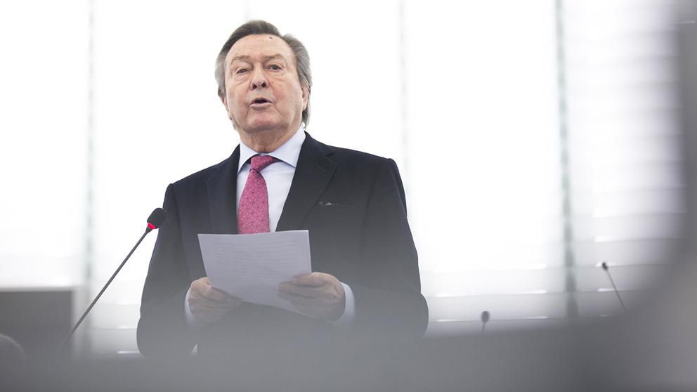 Luis de Grandes. (Foto: Partido Popular Europeo)