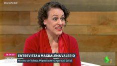 Magdalena Valerio en 'Liarla Pardo' (laSexta).