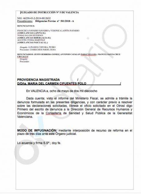 Montón nombra subsecretario a su hombre de confianza en Valencia denunciado por prevaricación