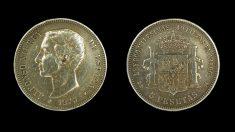 Monedas después de la Primera-Republica española.