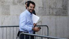 Matteo Salvini, viceprimer ministro de Italia (RRSS).