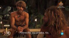 Logan y Sergio comentaban la prueba de la noria en 'Supervivientes'