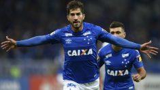 Lucas Silva, durante un partido con Cruzeiro. (AFP)