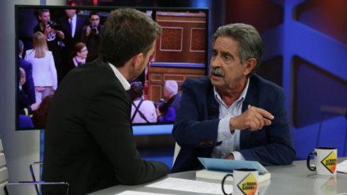 Miguel Ángle Revilla, genio y figura en 'El Hormiguero'. (Foto: Antena 3)