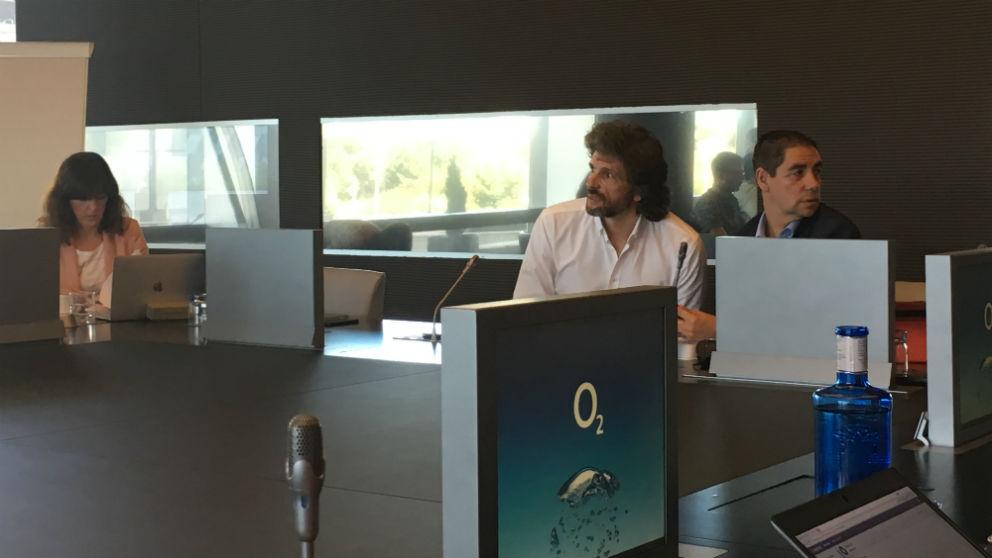 Pedro Serrahima, director de Estrategia Multimarca de Telefónica España.(Foto:C.M.) | Lanzamiento O2 Telefónica.