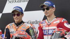 El equipo formado por Honda para 2019 con Lorenzo y Márquez como pilotos ha provocado bromas desde Italia, donde no se olvida todo lo sucedido en 2015. (getty)