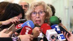 Manuela Carmena, este martes. (Foto. Madrid)