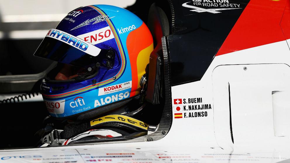 Fernando Alonso estará acompañado de Antonio García y Miguel Molina en Le Mans, formando los tres la representación española de la mítica carrera de resistencia. (getty)