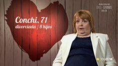 Conchi es una mujer del más allá 'First Dates'