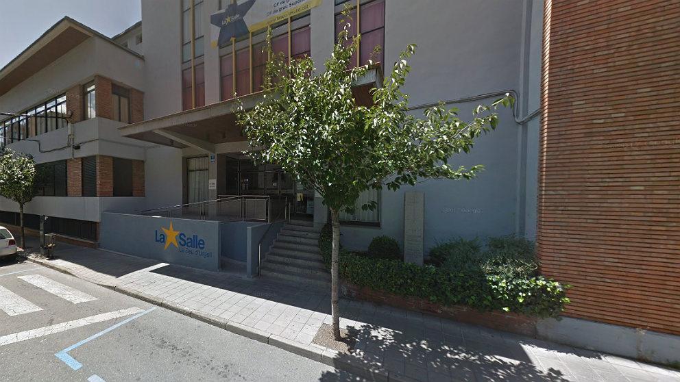 Escuela La Salle en Seo de Urgel (Lérida).
