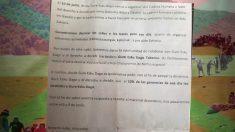 Carta de 'Gure Esku Dago' a los hosteleros vascos