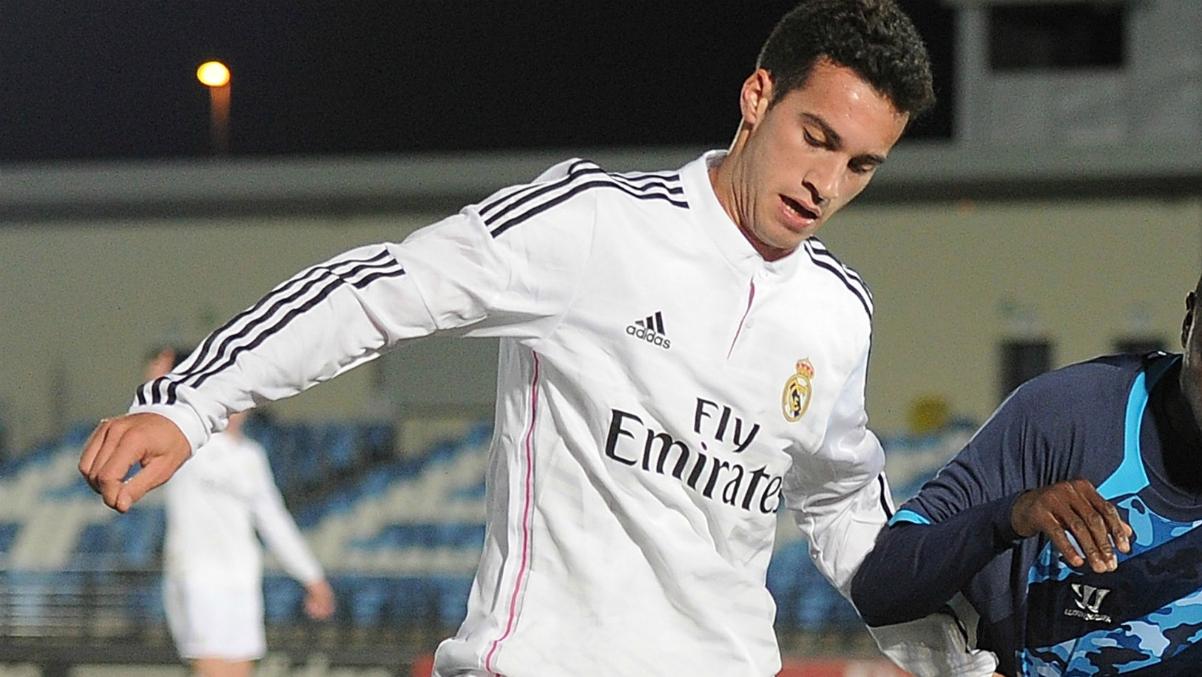 Lazo, durante su temporada en el Real Madrid Castilla. (Getty Images)