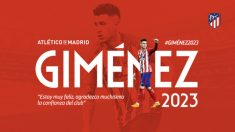 José María Giménez renueva con el Atlético hasta 2023. (atleticodemadrid.com)