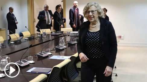 Manuela Carmena en una comisión, en imagen de archivo. (Foto. Madrid)
