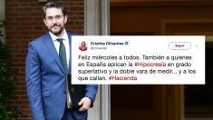Màxim Huerta, ministro de Cultura. (Foto: AFP)