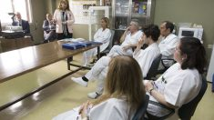 A.M.A. aborda en un taller de trabajo informativo en el Gómez Ulla