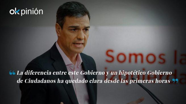 PSOE: la copia fallida de Ciudadanos