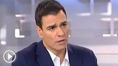 Pedro Sánchez en una entrevista concedida en 2015