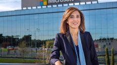 Pilar López, presidenta de Microsoft