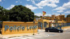 Sede de la Policía Local de Estepona. (Foto: EFE)