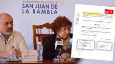 El documento firmado por la ministra portavoz Isabel Celaá que establece no expulsar del PSOE a la alcaldesa y al concejal acusados de corrupción