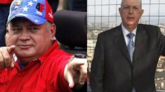 Diosdado Cabello y su testaferro Rafael Sarría Díaz.