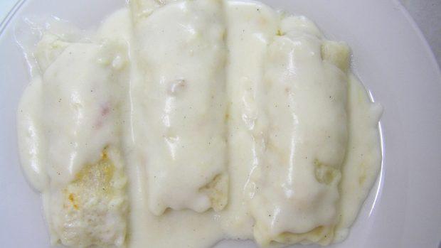 Bechamel sin mantequilla