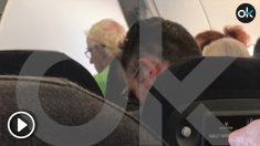 Iñaki Urdangarin en su vuelo a Ginebra