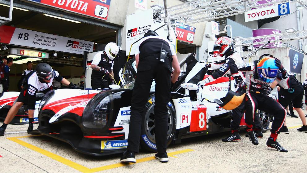 La parrilla de salida de las 24 horas de Le Mans se forma teniendo en cuenta tan solo el mejor tiempo logrado por cada coche en las tres sesiones clasificatorias que se disputan. (getty)