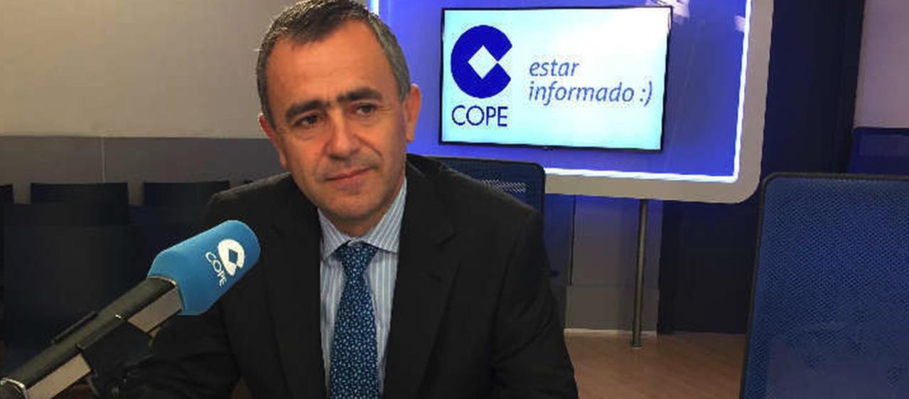 Fernando Giménez Barriocanal, vicesecretario de Asuntos Económicos de la Conferencia Episcopal Española CEE