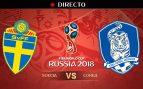 Suecia – Corea del Sur: partido del Mundial 2018, en directo