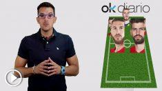 Esta es la alineación de España que jugará este viernes contra Portugal en el Mundial 2018. (vídeo: Juanma Yela)