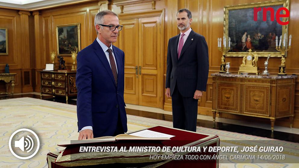 José Guirao es el nuevo ministro de Cultura y Deporte.