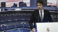 Julen Lopetegui, en su presentación con el Real Madrid. (AFP)