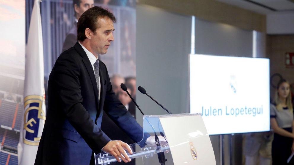 Presentación de Julen Lopetegui como entrenador del Real Madrid   Última hora Julen Lopetegui