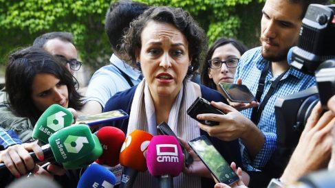 Magdalena Valerio, ministra de Trabajo, Migración y Seguridad Social. (Foto: EFE)