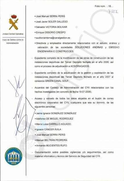 Anticorrupción planea imputar en Lezo al portavoz del PP en la Asamblea de Madrid Enrique Ossorio