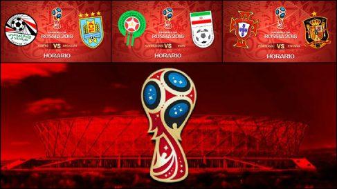 Mundial 2018: Partidos hoy | Horario Mundial de Rusia.