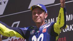 Valentino Rossi se ha mostrado muy esperanzado de lograr un buen resultado en Montmeló, un circuito donde su Yamaha M1 debería funcionar muy bien. (Getty)