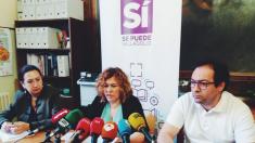 Concejales de Sí Se Puede (Podemos) en Valladolid (RRSS).