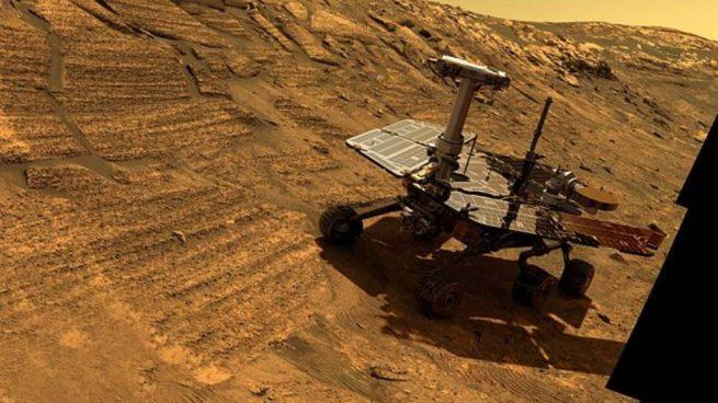 Una intensa tormenta de polvo en Marte podría acabar con la vida del rover Opportunity