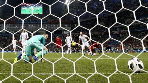 De Gea falla en el gol de Cristiano. | España – Portugal en directo | Mundial 2018