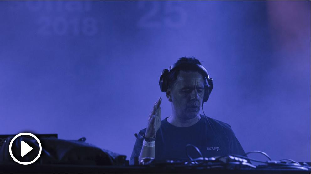 Laurent Garnier en el escenario Sónar Village. Foto: Patricia Nieto