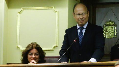 Mariano Pérez-Hickman Silván, en su primera etapa como diputado. (Foto. Congreso)