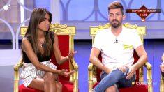 Sofía y Alejandro Albalá en el trono de 'MYHYV'
