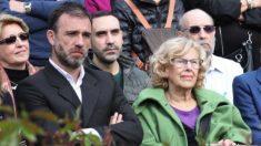 Nacho Murgui y Manuela Carmena. (Foto. Madrid)