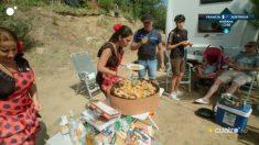 Las 'brilli brilli' en un camping en los 'Gipsy Kings'