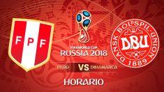 Mundial 2018: Perú – Dinamarca   Mundial de Rusia en directo.