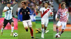 Mundial 2018: Agüero, Griezmann, Guerrero y Modric, jugadores a seguir.
