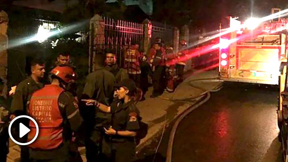 En Caracas, una estampida causada por un bote de gas lacrimógeno lanzado en una pelea acaba con 17 muertos